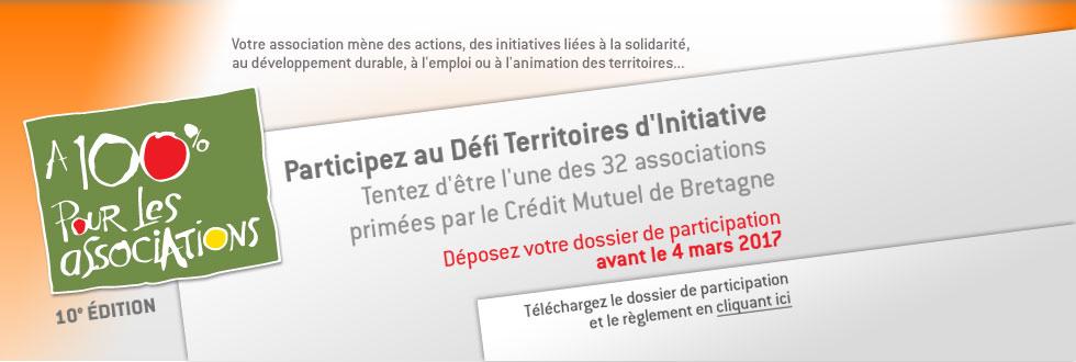 Défi Territoires d'Initiative pour l'emploi, la solidarité et le développement durable en Bretagne
