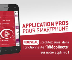 L'application PRO pour smartphone