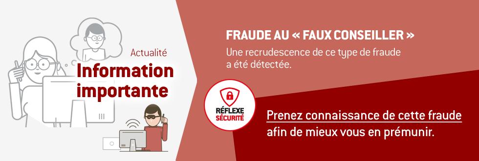 Sécurité en ligne : prenez connaissance de la fraude au