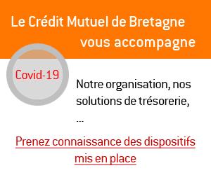 Le Crédit Mutuel de Bretagne vous accompagne